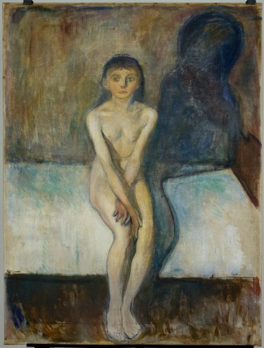 "Edvard Munch, ""Puberty"", 1894"
